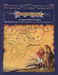 Cover Art - Atlas of the Dragonlance World