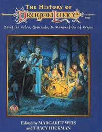 Cover Art - History of Dragonlance