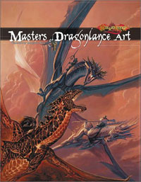Cover Art Masters of Dragonlance Art